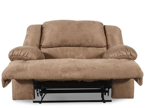 reclining oversized chair oversized recliner mathis brothers