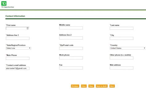 td bank employment td bank career guide td bank application