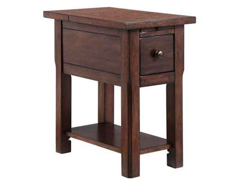 stein world accent table stein world accent tables 1 drawer chairside table with rustic lodge finish value city