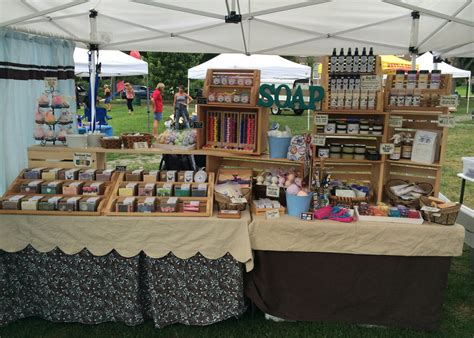 Handmade Soap Displays - craft fairs flea markets s handmade soap