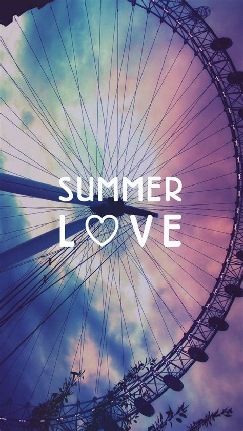 girly summer wallpaper summer love ferris wheel free iphone background l ve