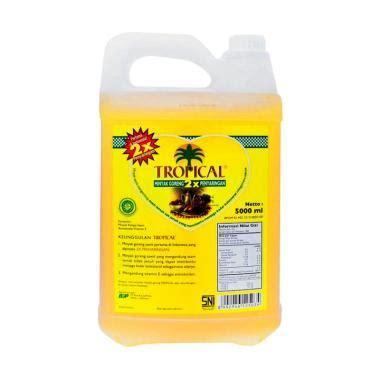 Minyak Goreng Tropical Di Carrefour jual tropical jerigen minyak goreng 5 l harga