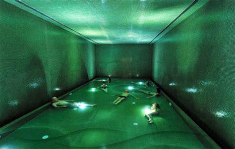 underground bathtub beer bath underground brewery converted to thermal spa urbanist