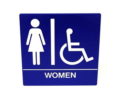 ladies bathrooms women restroom signs clipart best