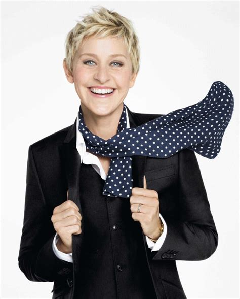 Degeneres On The Cover Of W by The Arrowhead And Here S