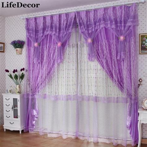 lace bedroom curtains small rose quality finished production lace curtain