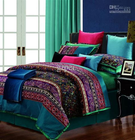 size bedding sets cotton vintage paisley comforter bedding set king