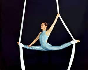 aerial silks aerial circus corde lisse