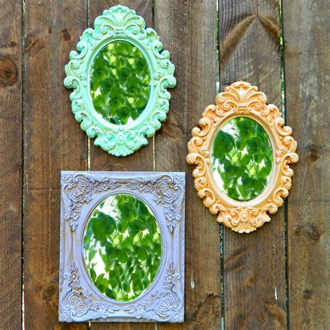 mirror craft projects dollar store crafts cheap craft ideas