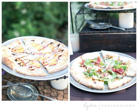 Table Pizza Grass Valley by Lydia Photographygrass Valley Garden Wedding Blakeley