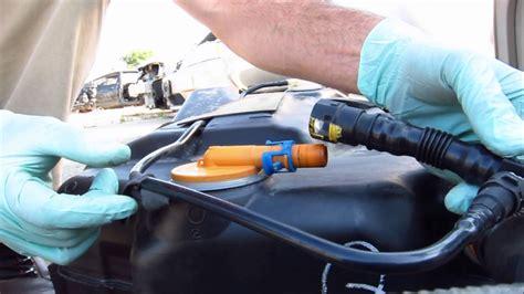 mazda  large evap  removal correction  tools