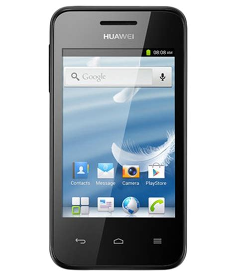 huawei mobile huawei ascend y220 mobile phone black mobile phones