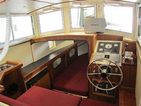 fishing boat interior timbercoast troller 22 new displacement design for