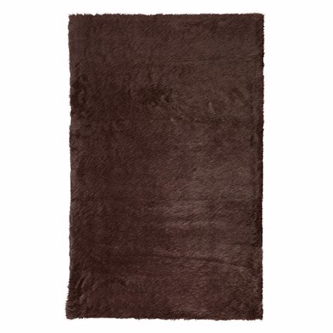 Sheepskin Area Rug Home Decorators Collection Faux Sheepskin White 5 Ft X 8 Ft Area Rug 5248230410 The Home Depot