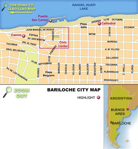 buenos aires national geographic destination city map books argentina travel guide city of bariloche map