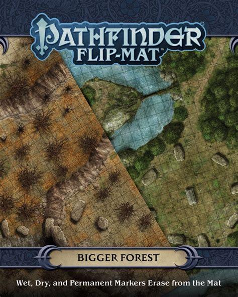 starfinder flip mat starship books paizo pathfinder flip mat bigger forest