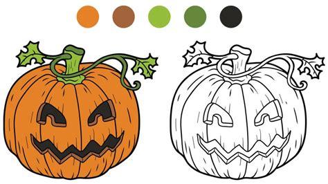 fotos terrorificas animadas dibujos de calabazas para colorear manualidades hogarmania