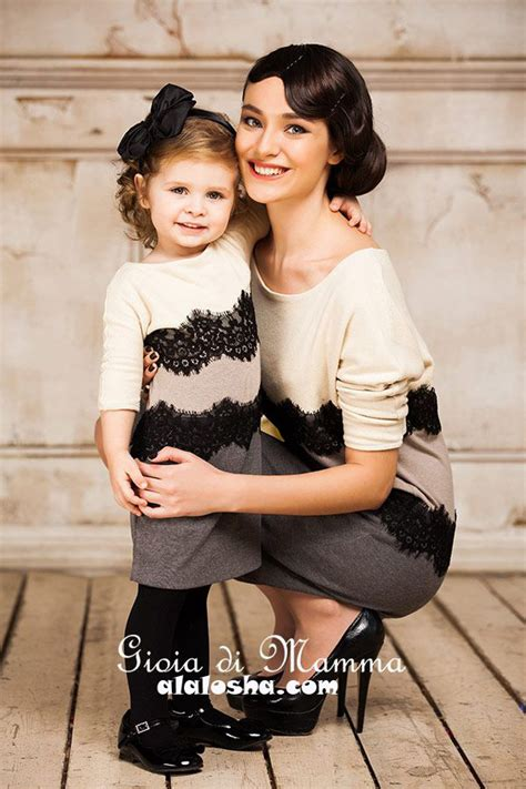 mother daughter mother daughter fashion by gioia di mamma fw2014 2015