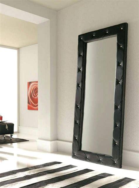 large floor mirror full length brown leather frame bedroom floor length mirror image of white gold 30x70 leaner