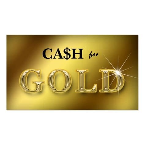 Change Gift Card For Cash - jewellery business cards cash for gold 2 zazzle