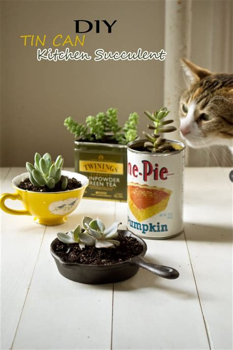diy kitchen crafts 34 diy easy tin can crafts projects diy to make
