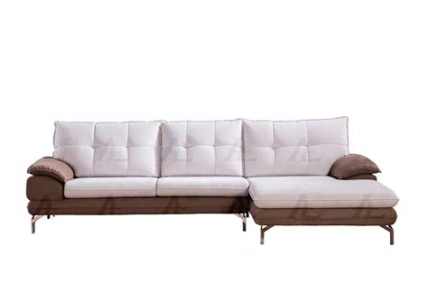 Grey Microfiber Sectional Sofa by Gray Microfiber Sofa Sectional Ae366 Fabric Sofas