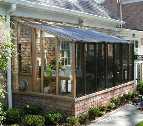 Lean To Sunroom Kits Garden Sunroom Greenhouse Gallery Sturdi Built Greenhouses