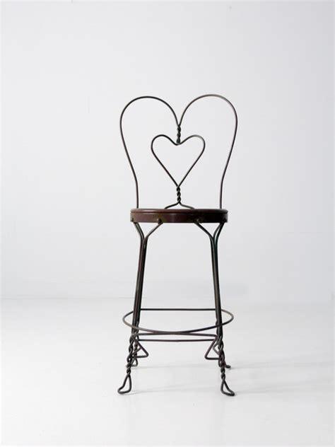 ice cream bar stools vintage ice cream parlor chair midcentury bar stools
