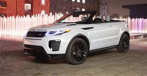 range rover coupe convertible range rover evoque convertible revealed 84 440 ragtop in