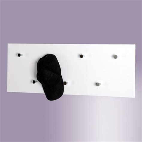 White Wall Coat Rack by Hi Gloss White Wall Mounted Coat Rack 42390 Ebay