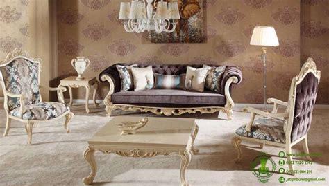 Kursi Sofa Klasik kursi tamu sofa shameran desain klasik jati pribumi