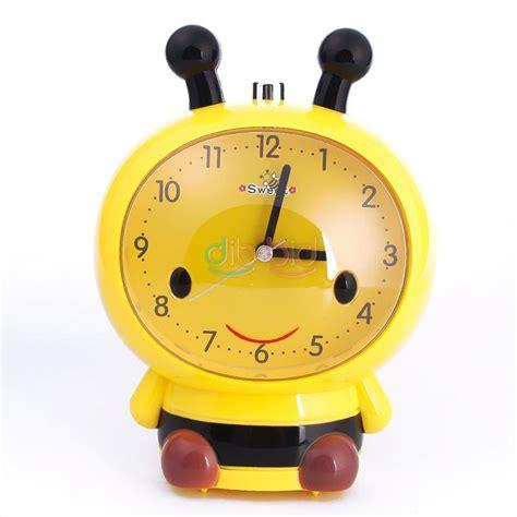 lovely plastic child voice bee light talking snooze alarm clock ebay