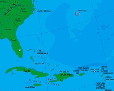 bermuda islands map chapter 6 the caribbean