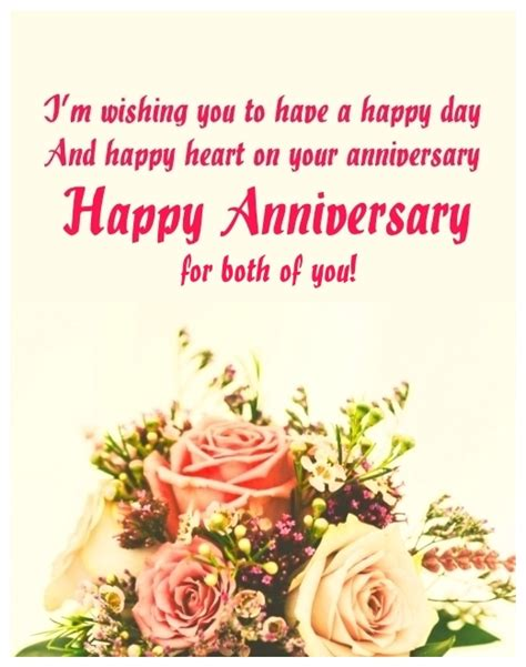 Wedding Anniversary Wishes To A by Anniversary Wishes For A Www Pixshark
