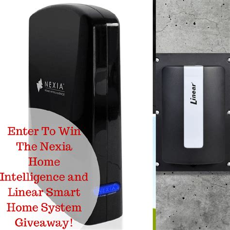 nexia home intelligence smart home system giveaway ends