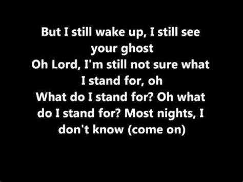 some testo some nights by lyrics clean