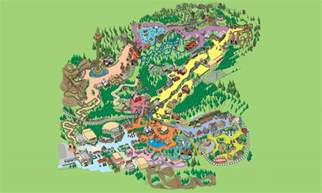 Dining Room Groups theme park map