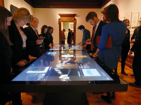 Small Expandable Dining Table by Take A Look At Ideum S Futuristic New 4k Uhd Multitouch