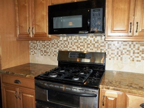 Mosaic Kitchen Backsplash Glass Mosaic Tile Backsplash Ideas