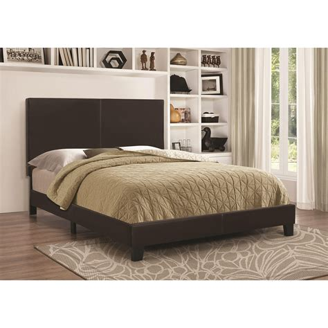 coaster beds coaster upholstered beds upholsted low profile full bed
