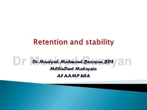 Cd E Book Rention And Stability In Orthodontics retention and stability