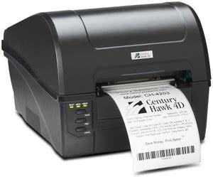 Postek Tx2 203 Dpi Tanpa Ribbon Label ch 4203 century hawk 4d thermal barcode printer 203 dpi new
