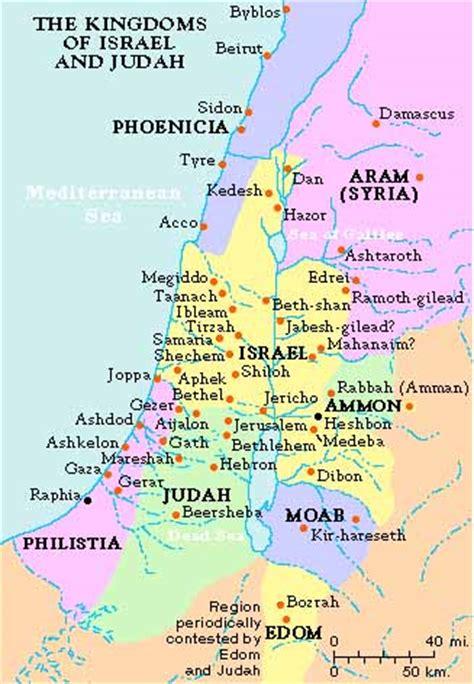 ancient middle east map judah judah crystalinks