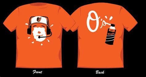 Baltimore Orioles T Shirt Giveaway - orioles announce winner of their fan designed t shirt