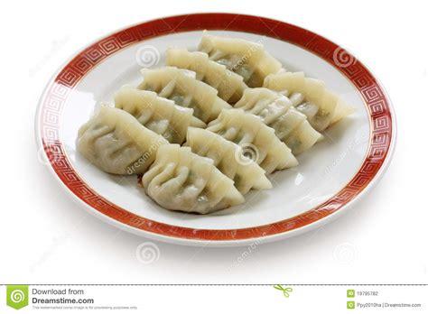 new year jiaozi recipe pan fried dumplings stock photography image