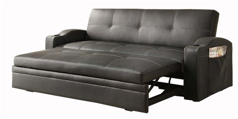 Sales Sofas by Comfortably Sleeping On The Leather Sofa Bed