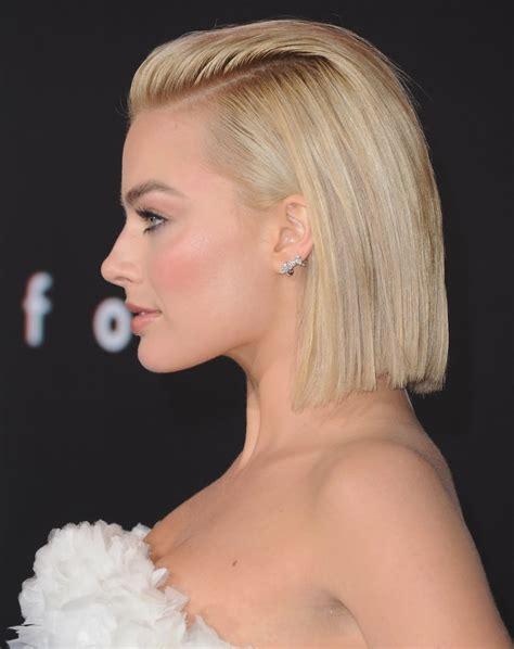 margot robbie haircut how to do updos for short hair and bobs popsugar beauty
