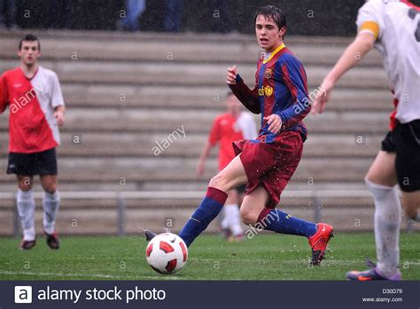 barcelona youth barcelona spain mar 12 qiuntilla plays with f c