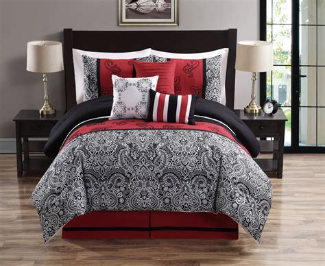 red and white comforter sets king cal king bedding ensembles with fabulous full bedding set