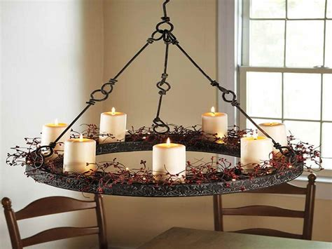 Homeofficedecoration Hanging Real Candle Chandeliers Real Candle Chandelier